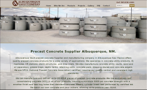 Albuquerque-Vault-Web-Design-Project